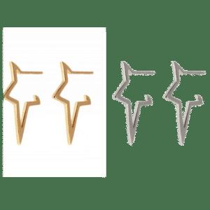 Diana große Sterncreolen varianten